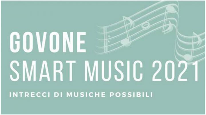 Govone smart music 2021 - Intrecci di musiche possibili - locandina