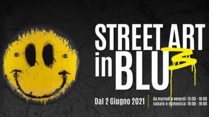 STREET ART IN BLU 3 - Locandina
